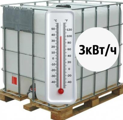 Б/У Еврокуб 1000л с Тэном 3 кВт/ч